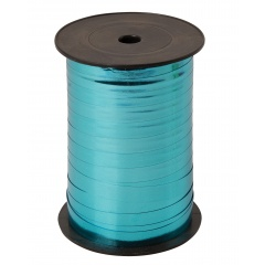 Blue Metallic Curling Ribbon - 100m, Radar B12598, 1 Roll