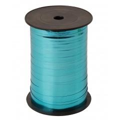 Rafie metalizata pervinca  (bleu) pentru legat baloane latex sau folie - 5 mm x 100 m, Radar B12598, 1 rola