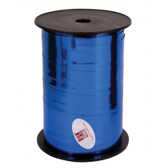 Sapphire Blue Curling Ribbon 5mm x 500m, Qualatex 25907, 1 Roll