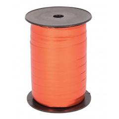 Rafie metalizata portocaliu pentru legat baloane latex sau folie - 100 m, Radar 66208, 1 rola