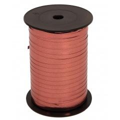 Rafie metalizata burgundy pentru legat baloane latex sau folie - 100 m, Radar 66210, 1 rola