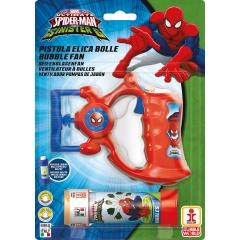Pistol Baloane de Sapun Spiderman cu baterii, Dulcop 121018, 1 buc