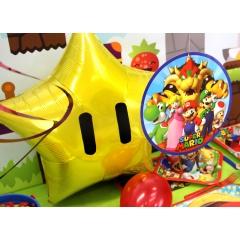 Balon Folie 45 cm - Mario Nintendo, Amscan 35333ST
