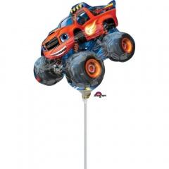 Balon mini figurina Blaze - 25 x 20 cm, Amscan 34503