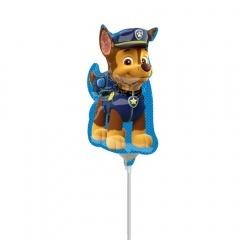 Balon mini figurina Chase Paw Patrol - Amscan 34498