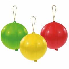 Baloane latex punch ball - 35.4 cm, Amscan 6431, set 3 bucati