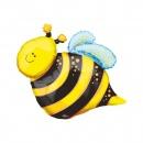 Balon mini figurina Albina Fericita - umflat + bat si rozeta, Amscan 07718