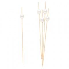 Scobitori decorative cu perlute pentru briose- 12 cm, Radar 50271, set 25 bucati