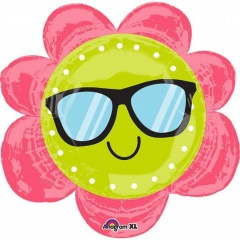 Balon Folie Figurina - Fun in the sun flower - 68 x 68cm, Amscan 35041