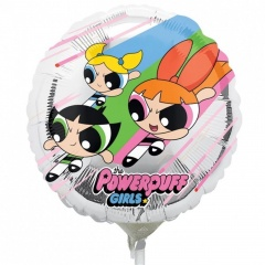 Balon Mini Folie Powerpuff Girls - 23 cm, Amscan 34501