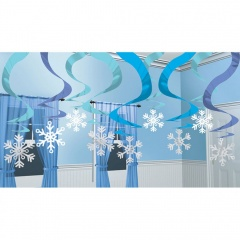 Swirl Decorations Winter Wonderland, A 679239, Pack of 15 items