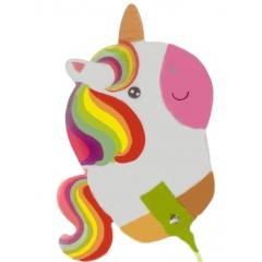 Balon Folie Figurina - Unicorn Jucaus, Amscan 37954