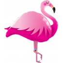 Balon Folie Figurina Flamingo- 118 cm, Qualatex 57807