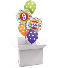 Cutie pentru baloanele cu heliu - 60.5 x 49  x 42.5 cm, Qualatex  47434