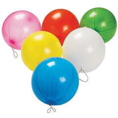 Assorted Punch Ball Latex Balloons , 18 inch (45/48 cm), Gemar GPB1, Pack Of 50 pieces