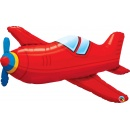 Balon Folie Figurina Avion - 91 cm, Qualatex 57811