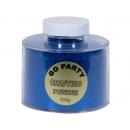 Pudra cu sclipici Sapphire Blue Pentru Baloane- 100 gr, Qualatex 82486