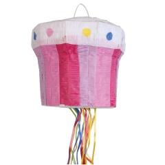 Pinata forma Cupcake cu sfori, Amscan 9903134, 1 buc