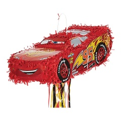 Pinata Disney Cars - Lightning McQueen cu sfori, Amscan 9903158, 1 buc