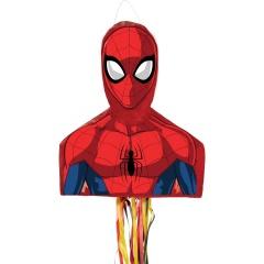 Pinata Disney Spiderman cu sfori, Amscan 9903150, 1 bucata