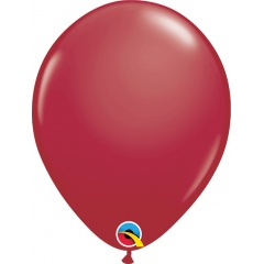 "Balon Latex 11"" Maroon, Qualatex 57132"