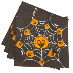Servetele de masa pentru Halloween - 33 x 33 cm, 3 straturi, Radar 52564, set 16 bucati
