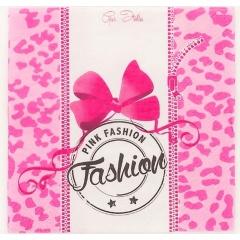 Servetele pentru petrecere Pink Fashion - 33x33 cm, 3 straturi, Radar 63624, set 10 bucati