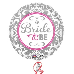 Balon folie 45 cm Bride to be - Amscan 32123