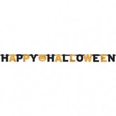Ghirlanda decorativa Happy Halloween - Amscan 129470, 1 buc
