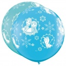 Balon Latex Jumbo 3 ft Frozen, Qualatex 49578, 1 buc