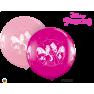 "Metallic Magenta Circle Foil Balloon - 18""/45 cm, Northstar Balloons 00731, 1 piece"