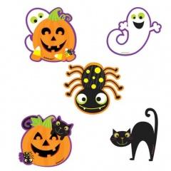 Decupaje pentru Halloween - Amscan 191107-55, set 10 buc