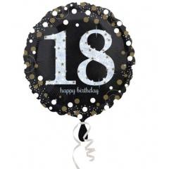 Balon folie 45 cm, 18 ani - Amscan 33239