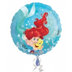 Balon folie 45 cm Ariel Dream Big, Amscan 33823