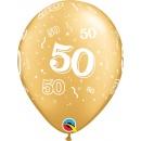 "Metallic Black Circle Foil Balloon - 18""/45 cm, Northstar Balloons 00737, 1 piece"