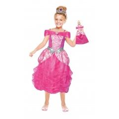 Costum Barbie pentru fetite (3 - 5 ani), Amscan 999356