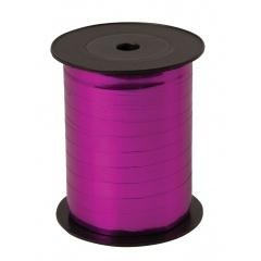 Rafie metalizata Azalea (roz) pentru legat baloane latex sau folie - 100 m, Radar 67059, 1 rola