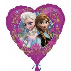 "Frozen Heart Shaped Foil Balloon, Amscan, 18"", 30402st"