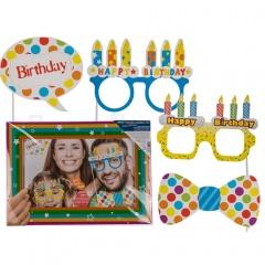 "Accesorii foto ""Happy Birthday"" - ca. 47 x 33 cm, Radar 181098"