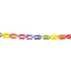 Ghirlanda decorativa pentru petrecere, multicolora - ca. 3 m, Radar 61006, 1 bucata