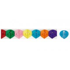 Ghirlanda decorativa pentru petrecere, multicolora - ca. 4 m, Radar 61023, 1 bucata
