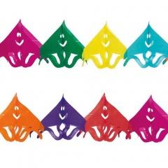 Ghirlanda decorativa pentru petrecere, multicolora - ca. 3 m, Radar 61025, 1 bucata