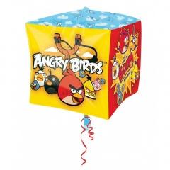 Balon Folie Cubez Angry Birds - 38 cm, Amscan 28462