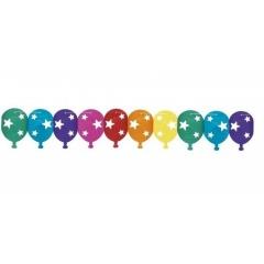 Ghirlanda decorativa pentru petrecere, multicolora - ca. 3 m, Radar 61031, 1 bucata