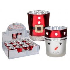 Suport decorativ lumanare pastila - ca. 6,5 x 5,5 cm, Radar 938927, diverse modele