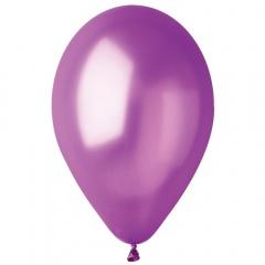 Baloane latex sidefate 21 cm culoare violet, Gemar AM80.34