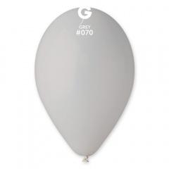Baloane latex 30 cm, Gri/Grey 70, Gemar G110.70
