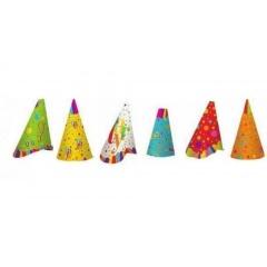 Coifuri de petrecere ca. 20 cm cu desene, Radar 50045