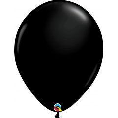 Balon Latex Onyx Black, 16 inch (41 cm), Qualatex 43858