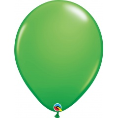 Spring Green Latex Balloon, 16 inch (41 cm), Qualatex 45714
